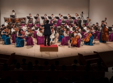 日本東京三鷹市公會堂舉辦「A Peaceful World」舉行跨國聯合音樂會